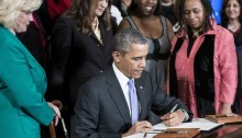 President Signs Order to Ban LGBT Discrimination
